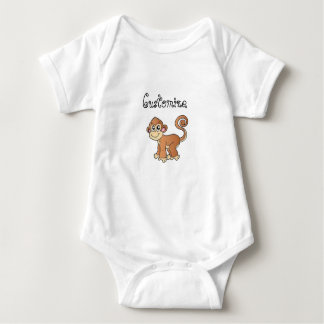 Monkey Collection Baby Bodysuit