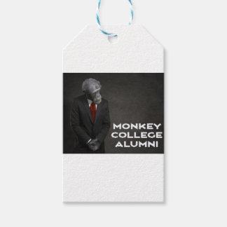 Monkey College Alumni Association Gift Tags