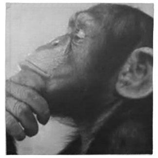 monkey college napkin