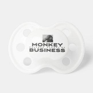 Monkey College School of Business Binky Pacifier