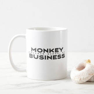Monkey College School of Business Coffee Mug