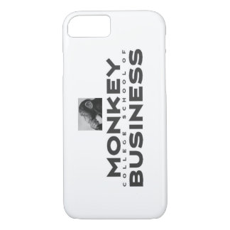 Monkey College School of Business Phone Case