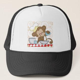 Monkey Cook Trucker Hat