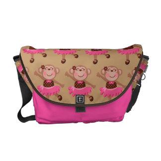 Monkey Dance Ballet Gift Commuter Bag