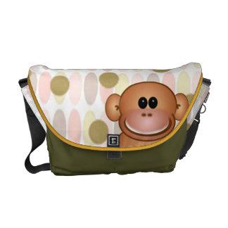 Monkey Diaper Bag Commuter Bag