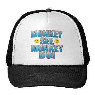 Monkey Do Life B Trucker Hat