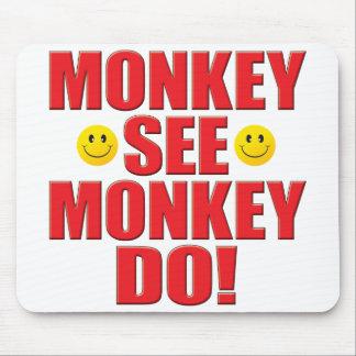 Monkey Do Life Mousepads