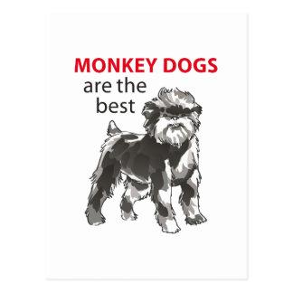 MONKEY DOGS POSTCARDS