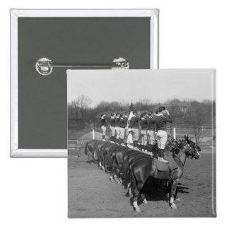 Monkey Drill 1920s Pin