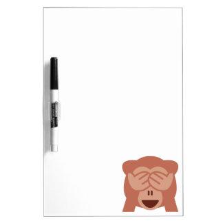 Monkey Emoji Dry Erase Board