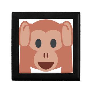 Monkey emoji gift boxes