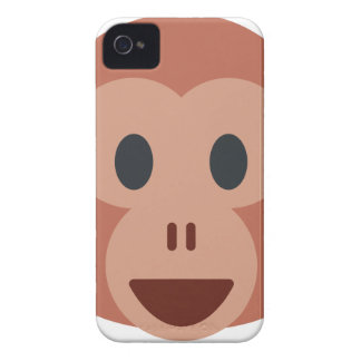 Monkey emoji iPhone 4 Case-Mate cases