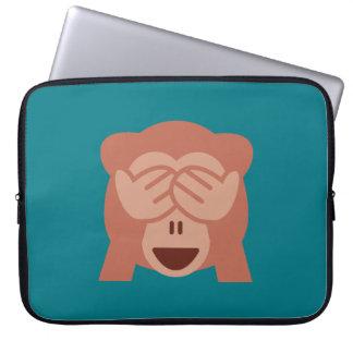 Monkey Emoji Laptop Sleeve