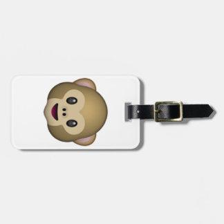 Monkey - Emoji Luggage Tag