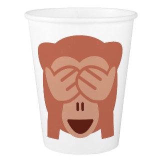 Monkey Emoji Paper Cup
