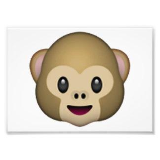Monkey - Emoji Photo Print