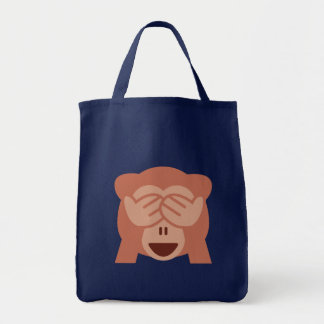 Monkey Emoji Tote Bag