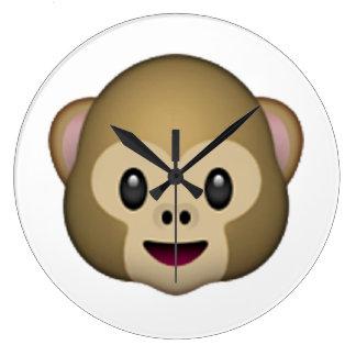 Monkey - Emoji Wall Clocks