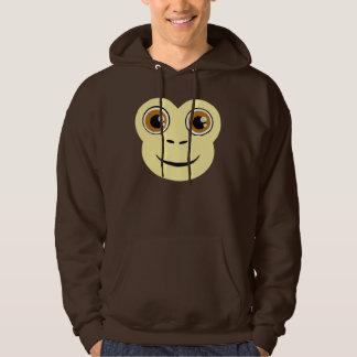 Monkey Face Hoodie