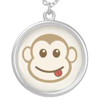 Monkey Face Necklace