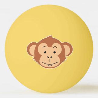 Monkey Face Ping Pong Ball