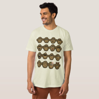 monkey Faces T-Shirt