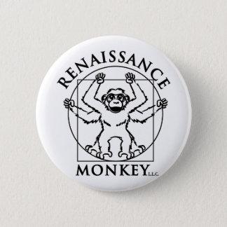Monkey flair 2 inch round button
