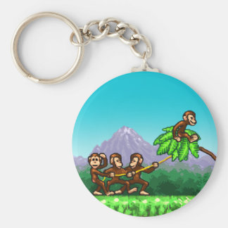 Monkey Flight Keychain
