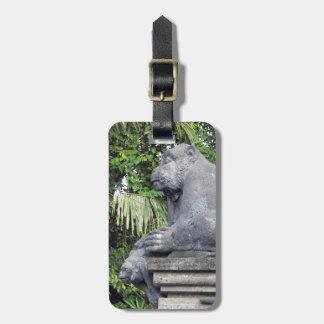 Monkey Forest Luggage Tag