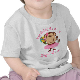 Monkey Future Big Sister Tee Shirts