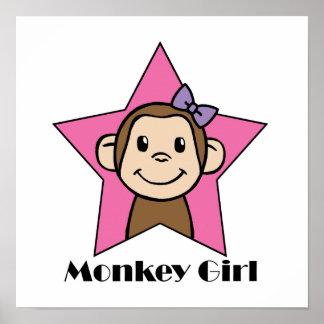 Monkey Girl Poster