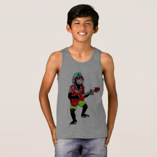 Monkey Guitarist Tank Top