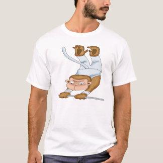 Monkey Gymnast T-shirts