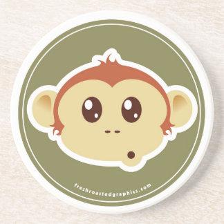 Monkey head coaster