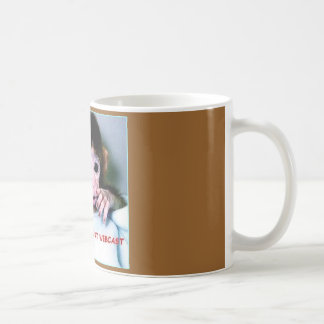MONKEY, I LOVE CLASSIC WHITE COFFEE MUG