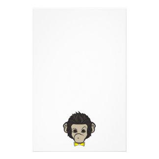 monkey identica stationery design