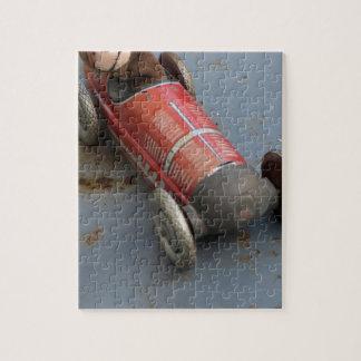 Monkey in a toy car jigsaw puzzle