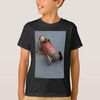 Monkey in a toy car T-Shirt