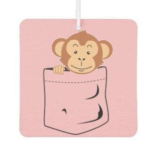 Monkey in pocket air freshener