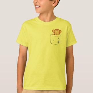Monkey in pocket T-Shirt