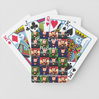 Monkey in the Middle Apps playing cards