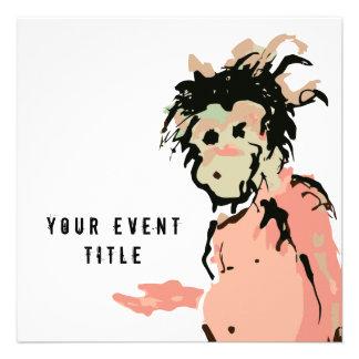 monkey ink custom announcement