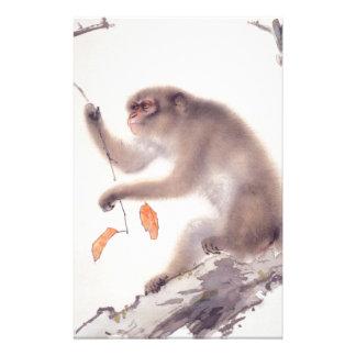 Monkey Japanese Painting - Year of the Monkey Stationery