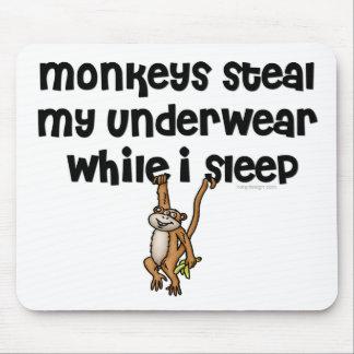 Monkey Joke Mousepads