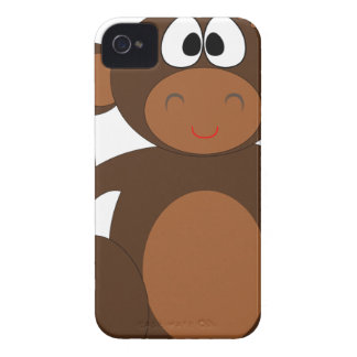 Monkey Kids Drawing Case-Mate iPhone 4 Case