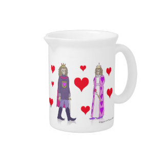 Monkey King and Queen of Hearts Pitcher