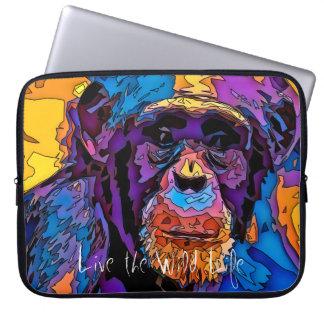 Monkey - Live the Wild Life / Laptop Sleeve