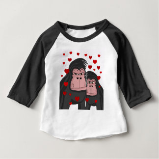 Monkey love baby T-Shirt