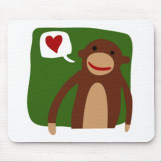 monkey love mousepad