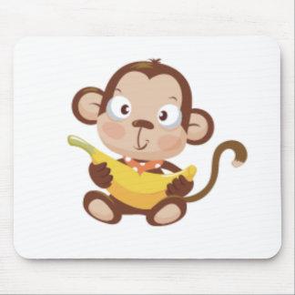 Monkey Love Mouse Pad